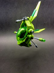 LEAF (Light Enabled Assualt Fighter (1) (SuperHardcoreDave) Tags: lego space spaceship moc starfighter spacefighter