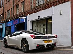 Ferrari 458 Italia (EJAV99 Photography) Tags: boy slr london project awesome ferrari kahn mclaren racers bugatti lamborghini supercars veyron millionaire afzal 458 knightbridge 2013 hypercars lp560 aventador lp700