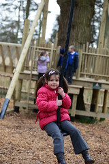 Woodland Adventure Play Area (Holkham Estate) Tags: england hall swings norfolk treehouse playtime zipwire holkham playarea holkhampark ropewalks