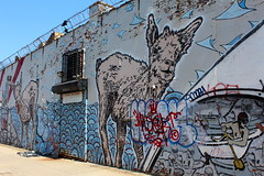 Brooklyn - Bushwick: Five Points - Broken Crow, OverUnder and Paint Goggles (wallyg) Tags: nyc newyorkcity streetart ny newyork brooklyn graffiti mural gothamist fivepoints bushwick overunder 5points kingscounty johngrider brokencrow erikburke mikefitzsimmons paintgoggles bushwickfivepoints bushwick5points bushwickcollective