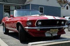 1969 Mustang Cobra/Fujifilm X20 (ho_hokus) Tags: 1969 car newjersey classiccar vintagecar fuji unitedstates nj mustang fordmustang x20 digitalcompact mustangcobra rivervale 2013 fordmustangcobra fujifilmx20