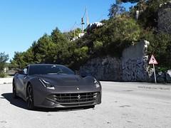 Matte (Ste Bozzy) Tags: black car italian gray wrapped wrap ferrari montecarlo monaco exotic rims supercar matte f12 2014 berlinetta matteferrari ferrarif12 ferrarif12berlinetta 19bozzy92 matteferrarif12