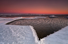Moment of the past (Andrei Reinol) Tags: morning pink winter light sky snow seascape cold color detail ice beach nature colors horizontal sunrise landscape outdoors photography lights coast early frozen marine colorful warm europe long exposure frost estonia view wind outdoor january atmosphere nopeople baltic fresh adventure clear crisp shore land nordic rise scape cristal icicles northen andrei beautifulnature beautifullandscape colorfullandscape leefilter balticlandscape estonianlandscape europeanlandscape reinol andreireinol