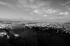 Budapest (giuliafaillaci) Tags: bridge blackandwhite white black budapest bn ponte gita bianco nero landescape viaggio ultimo paesaggio biancoenero anno ungheria danubio distruzione