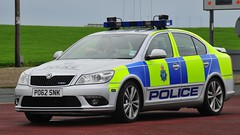 Merseyside Police Skoda Octavia VRS (sab89) Tags: out ride watching egg over police run tribute skoda wirral octavia merseyside vrs snk po62 po62snk
