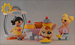 365 Days In Colour-Yellow (Jo-Feels Like Winter Out There!) Tags: bunny cakes yellow pie toys cupcake lalaoopsy 365daysincolouryellow 29036541714