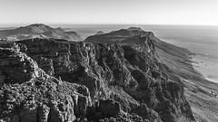 Table Mountain (Lysmask) Tags: friends sunset summer sky sun mountains stone southafrica march capepoint capeofgoodhope kapstadt tablemountaincapetown blackandwhitesw cloudssundowner