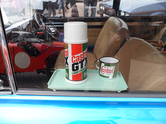 Stratford Festival Of Motoring. 1st May 2016 (ukdaykev) Tags: classic car classiccar may retro vehicle british castrol imp hillman stratford stratforduponavon midlands motoring rootes hillmanimp 2016 castrolgtx minilites classictransport sbt67n