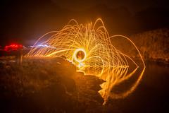 Pinta una historia (miguel vanegas) Tags: life color water trek noche agua paint time live vida nocturna montaa pinta paramo 4000 treking chingaza