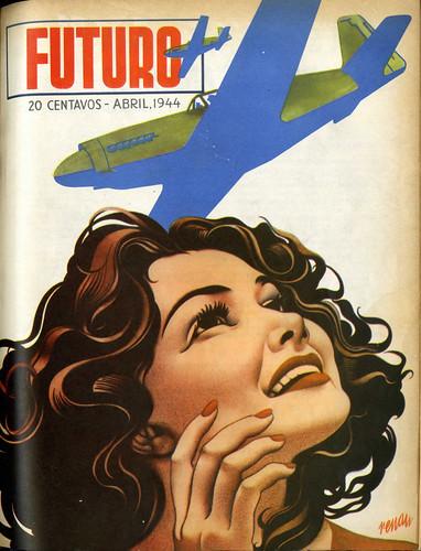 Portada de Josep Renau Berenguer para la Revista Futuro (abril de 1944)