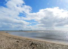 Aberdeen Beach, Donmouth Local Nature Reserve, Aberdeen, April 2016 (allanmaciver) Tags: sea sky beach nature water clouds grey coast sand wind walk air north reserve move fresh east aberdeen shore enjoy local breeze across solitary dritwood donmouth allanmaciver