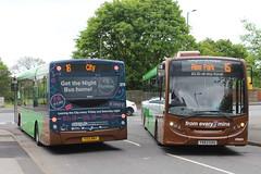 Nottingham City Transport 379 (Ash Hammond) Tags: 390 nottinghamcitytransport 379 alexanderdennisenviro200 yx13bny yx63gxu