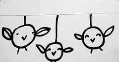 blurry vision (lu.glue) Tags: bw streetart bird animals schweiz switzerland sticker suisse basel uccelli sw svizzera animaux vgel animali lu oiseaux autocollant basle kleber basilea ble fineliner luglue