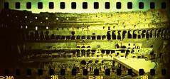 Colosseo 6 (Nicola Donato) Tags: rome roma lomo xpro lomography xprocess crossprocess toycamera wide panoramic colosseum rocket agfa vignetting agfaprecisa analogphotography plasticcamera colosseo sprocket plasticlens precisa ct100 sprocketrocket analogicait