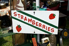 strawberries sign (holiday_jenny) Tags: park sea vintage spring nj historic og asbury antiques jerseyshore fleamarket oceangrove 2016 tenthouses