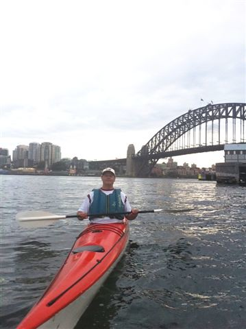 "Kayaking on Sydney Harbour. Feb, 2012 • <a style=""font-size:0.8em;"" href=""http://www.flickr.com/photos/22769725@N08/27011880275/"" target=""_blank"">View on Flickr</a>"