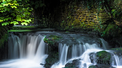 #Flow (Eric Goncalves) Tags: green nature water wall wales flow countryside waterfall moss peaceful tintern nikond810 ericgoncalves nikon24120f14vr