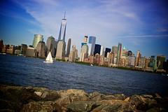 NYC Skyline at Dusk (allendc33) Tags: nycskyline libertystatepark freedomtower