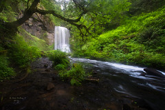 Hidden Jewel (Kirk DuBose) Tags: upper bridal veil falls upperbridalveilfalls columbiarivergorge waterfall waterfalls oregon creeks nature nikon forest