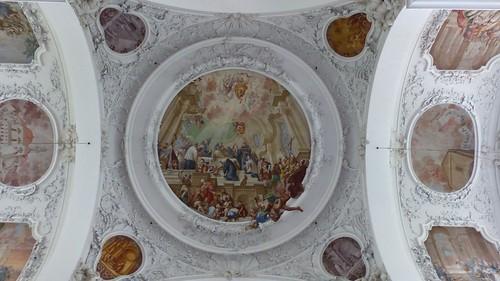 Decke Pfarrkirche St. Mang, Füssen