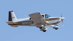 Grumman American AA-5A Tiger N9914U (ChrisK48) Tags: airplane aircraft tiger dvt phoenixaz kdvt phoenixdeervalleyairport grummanamericanaa5a n9914u