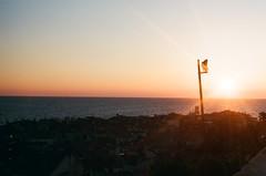 There's no sunshine when she's gone (Ix Iaci) Tags: sunset sea orange slovenia piran