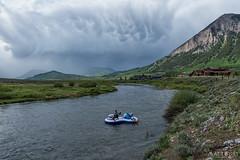 IMGP5344-Edit (Matt_Burt) Tags: storm clouds creek raft float crestedbutte mammatus