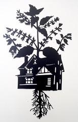 MBosley_InvasiveRoots (TheWayThingsWere) Tags: silhouette paperart silhouettes papercut papercuts papercutting mollybosley