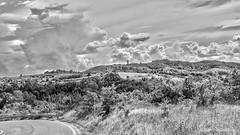 Verso Sant'Alosio (Mandi 77) Tags: bw landscape hills paesaggio biancoenero tortonese collitortonesi avolasca valossona