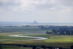 Saint Michel (Maliia) Tags: saint landscape horizon ombre normandie michel paysage mont printemps manche verdure ete baie plaine avranches