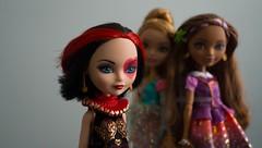 My dolls (dancingmorgana) Tags: hearts high dolls ella lizzie after ever rebels royals ashlynn everafterhigh