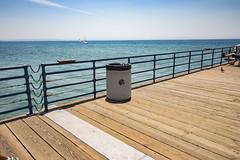 Waste (etzel42) Tags: ocean california santa ca pier santamonica socal monica boardwalk westcoast
