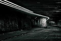 Glück (uwe1904) Tags: architektur deutschland duisburg industriekultur lostplace matenatunnel pentaxk200d ruhrpott schimanskitunnel schwarzweis stadtlandschaft thyssen nrw d