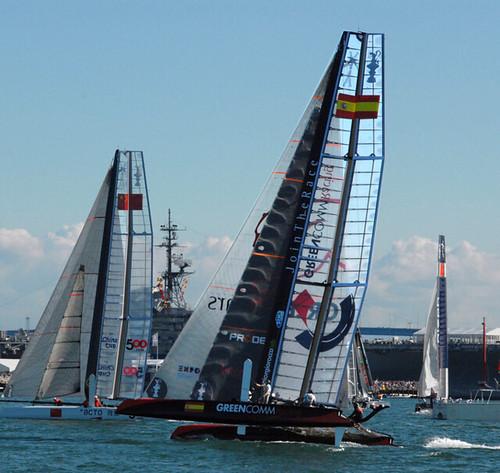 sanfrancisco sailboat boat americascup joshkeppel leeboads