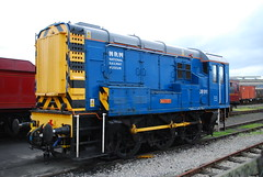 08911 (Sam Tait) Tags: york blue museum outside industrial br diesel railway class national matey 08 060 shunter exibits gronk 08911