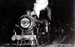 Titled Train Night Ferry 31789 (davids pix) Tags: paris london station ferry night l1 postcard victoria steam british locomotive railways named sncf oldpostcard nightferry 31789 titledtrains titledtrain