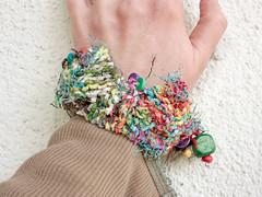 Cubes (big multicolor fun) (rRradionica) Tags: knitting handmade craft bracelet accessories accessory rrradionica