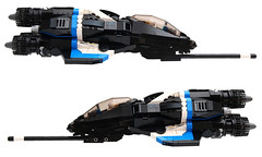 XF-112 Seraph (Brainbikerider) Tags: fiction lego space science spacecraft moc seraph starfighter xf112