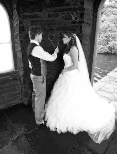 Charles & Nikki,Temple of Heroes, Storrs Hall, Windermere, Lake Disrict.