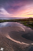 Surf's Up - Wilder Ranch State Park (Joshua Cripps) Tags: ocean california sunset santacruz reflection water sand pacific wave pinkclouds wilderranchstatepark purpleclouds indurotripod leegndfilters nikond7000 acratechballhead