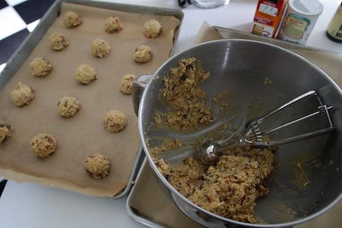 bacon oatmeal raisin cookies