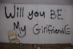 a subtle tactic- will you be my girlfriend
