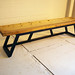3 person bench Black-$1350.00