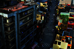 Street of Saigon - In the morning (Mio Cade) Tags: street morning roof vietnam chi ho hcm ming saigon activitiy