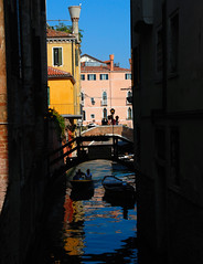 Venice - A Glimpse Up One of the City's 177 Canals!