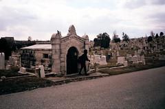 (Jacob Seaton) Tags: trees sky broken cemetery grave graveyard clouds skeleton skull tomb tombstone overcast graves gravestone skateboard tombs musicvideo rapture grimreaper baltimorecemetery tylerdavis naomidavidoff usandusonly