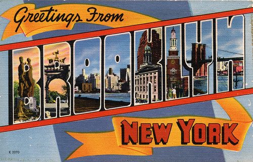 Greetings from brooklyn new york large letter postcard a photo greetings from brooklyn new york large letter postcard m4hsunfo