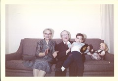 AUGUSTINE0854 (mizaliza) Tags: boy grandmother grandfather grandson vintagedoll photovintage photoantique etsydelphiniumsbluedelphiniumsbluefound recordetsy