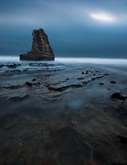 Davenport Moonshine (mikeSF_) Tags: ocean california santa county sea moon seascape mike night landscape long exposure pentax sigma stack cruz davenport 1020 k5 oria mikesf pentaxflickraward httpmikeoriazenfoliocom
