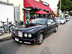 Bentley Azure (Hertj94 Photography) Tags: california santa black public boulevard january azure hills exotic monica british beverly spotted bentley 2012 worldcars